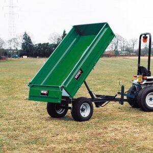 WT-1.5T Hydraulic Tipping Trailer 1. 5ton 1
